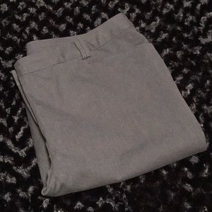 ➕Size Lane Bryant Grey Work Slacks